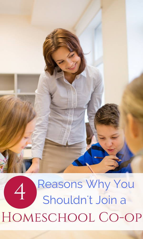 Reasons why you shouldn't join a homeschool co-op