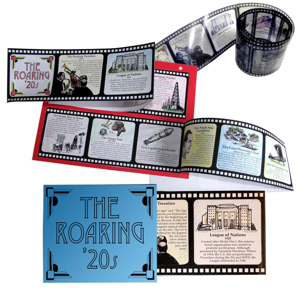 Roaring 20s history lap book Home School in the Woods