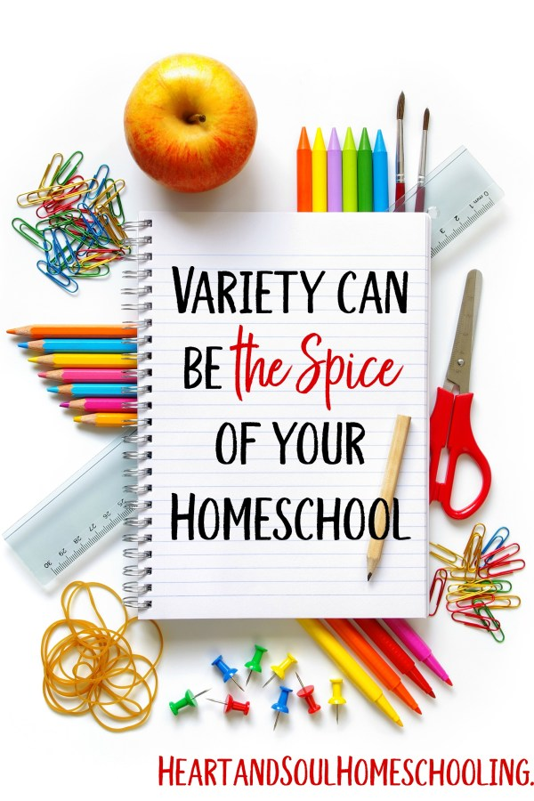 Adding Variety to your Homeschool