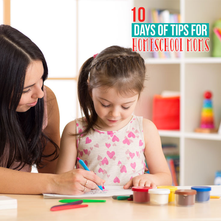 10 Days of Tips for Homeschool Moms series | homeschooling hints and hacks