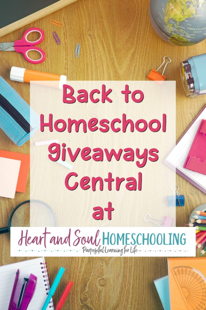 Back to Homeschool Giveaways You Won't Want to Miss