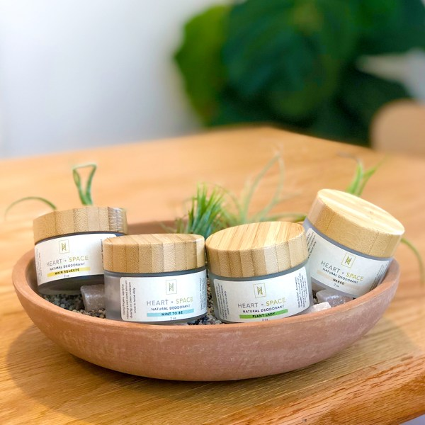Natural Deodorant Jar