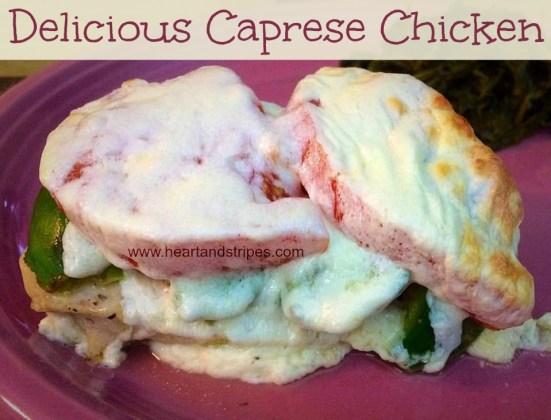 Delicious Caprese Chicken