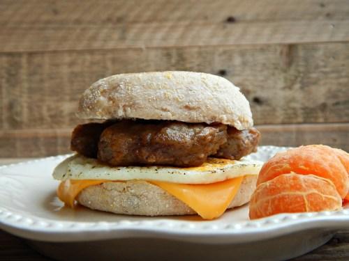 How To Make A Healthy Breakfast Sandwich Heart Stripes