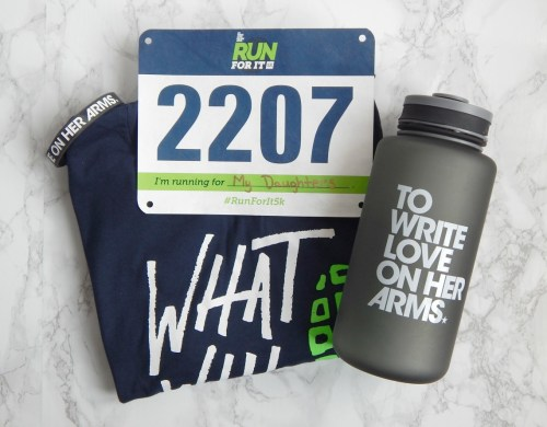 Running For A Cause - Overcoming Anorexia. What will you run for? To Write Love on Her Arms is a non-profit movement dedicated to presenting hope and finding help for people struggling with depression, addiction, self-injury, and suicide. TWLOHA exists to encourage, inform, inspire, and also to invest directly into treatment and recovery.
