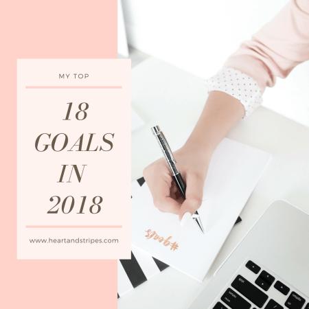 18 Goals In 2018
