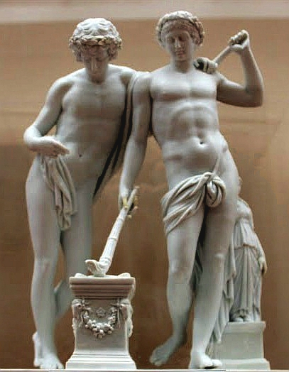 Castor and Pollux sounding the horn of being