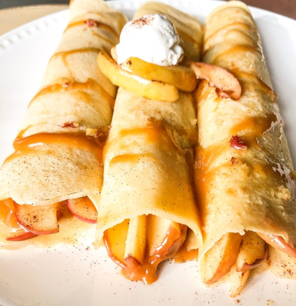 Fall Off (the wagon) Fridays With Caramel Apple Crepes