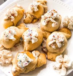 Cinnamon Sugar Marshmallow Pastry Puffs
