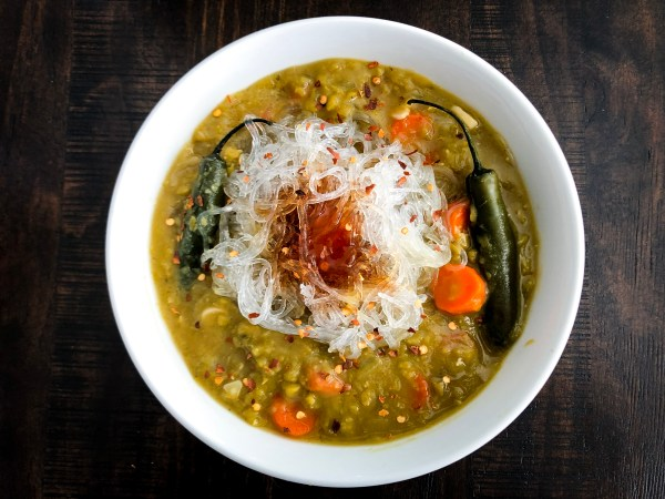 Asian Style Split Pea Soup