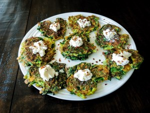 Garlic & Spinach Frittatas