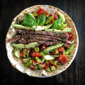 Italian Style Steak Sandwich
