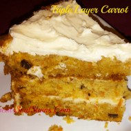 Triple Layer Carrot Cake