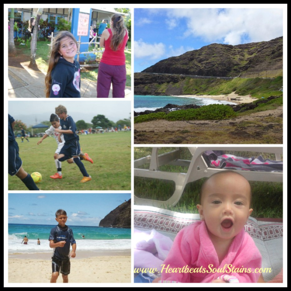 Our Life Through Pictures- Here's a glimpse at our Fun in the sand and sun