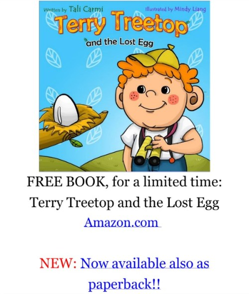 What a delightful children's adventure book.  Terry Treetop Finds New Friends by Tali Carmi {Review}