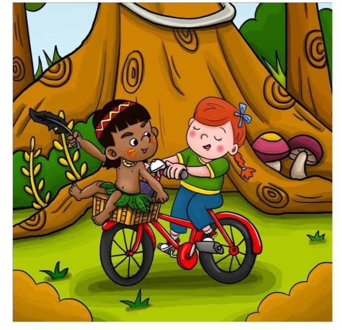 The fun never ends with Abigail and Nuka in Abigail and the Jungle Adventure