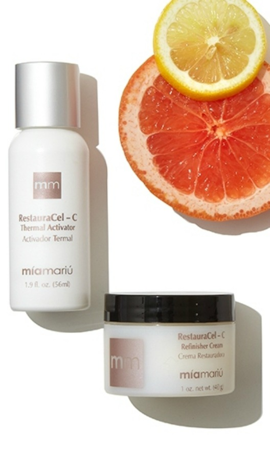 The natural beauty you get with the Thermal Microdermabrasion treatment with vitamin C added.  A smooth and even toned skin in just one treatment.