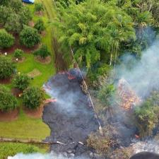 Puna Lava Flow Advancing