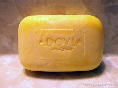 a natural sulfur soap made with dead sea salt from adovia