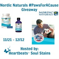 Nordic Naturals #PawsForACause Giveaway