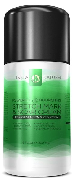 Stretch Mark & Scar Cream review by InstaNatural