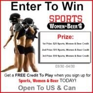 Sports, Women & Beer's Launch Giveaway