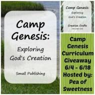 Camp Genesis Curriculum Giveaway