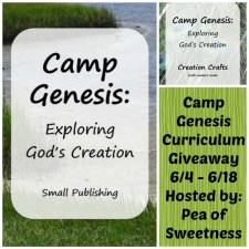 Camp Genesis Curriculum Giveaway