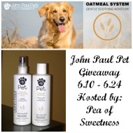 John Paul Pet Giveaway