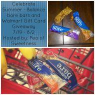 Celebrate Summer Balance Bar Giveaway