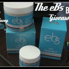 The eB5 Beauty Giveaway #eb5facialcream