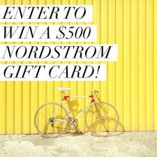 Nordstrom $500 Giveaway