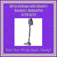 Off to College with Shark Rocket DeluxePro Giveaway