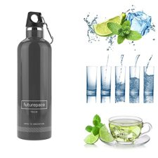Stainless Steel Insulated Sports Water Bottle By Futurepace Tech