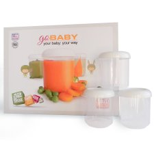 Baby Food Storage Containers By Littleware