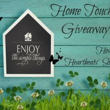 Home Touches Giveaway