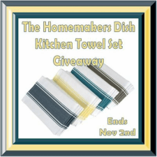 The Homemakers Dish Kitchen Towel Giveaway