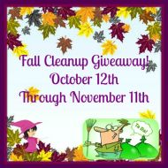 Fall Cleanup Giveaway #FCG1015