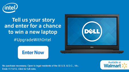 win a new laptop