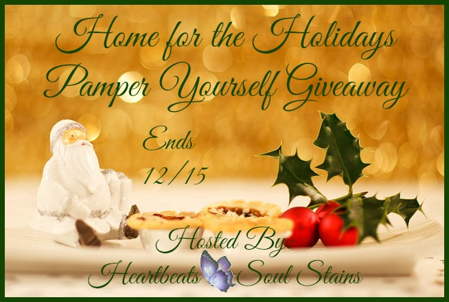 Home for the Holidays Pamper Yourself Giveaway + Hop