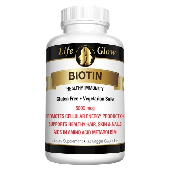 Biotin Supplement from Life Glow