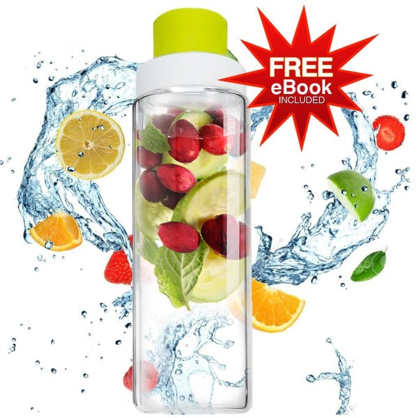 glass infuser water bottle 1