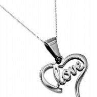 Heart Love Handwriting Necklace