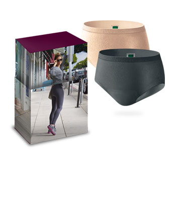 depend silhouette active briefs for incontinence protection