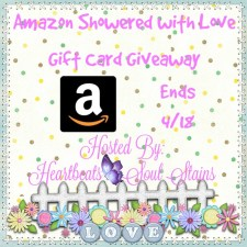 Amazon Showered with Love Gift Card Giveaway + Hop