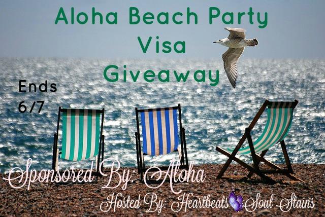Aloha Beach Party Visa Giveaway