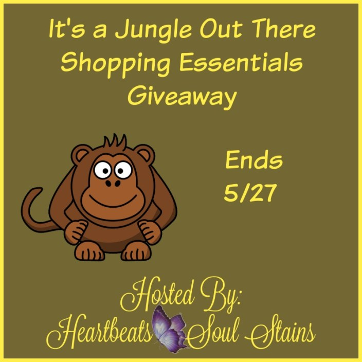 It's a jungle out there shopping essentials Giveaway