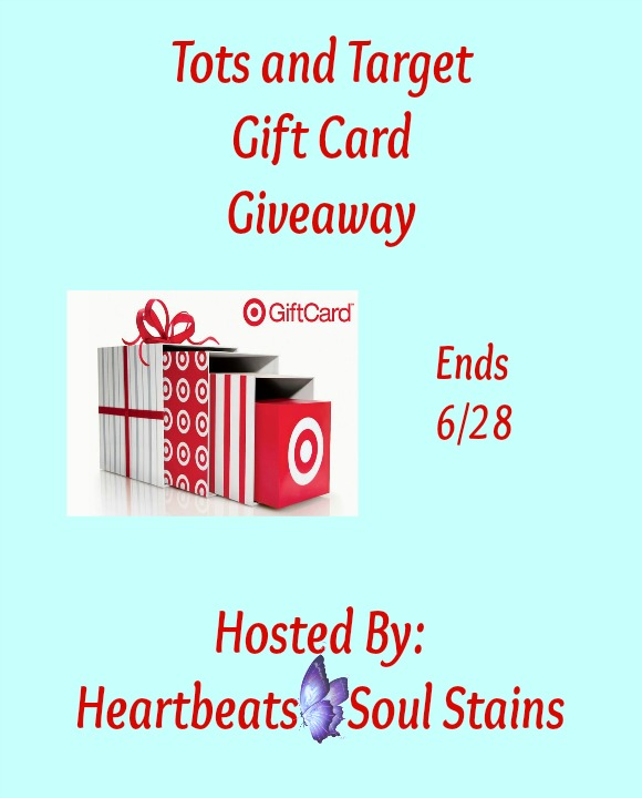 Tots and Target Gift Card Giveaway