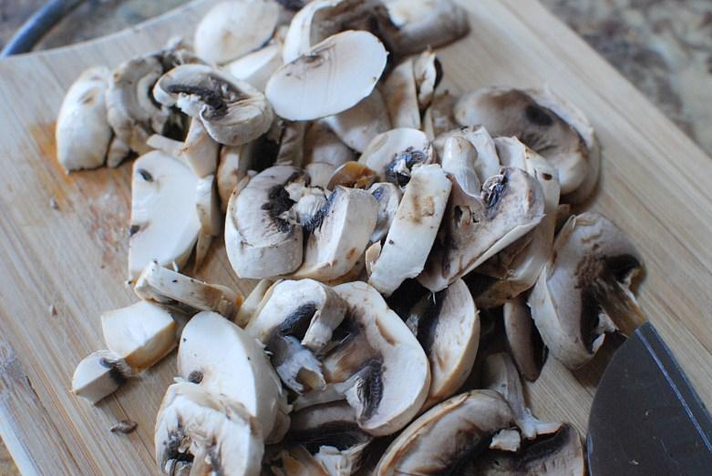 Creamy Rosemary Mushrooms on Toast