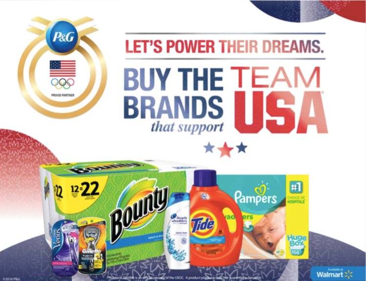 Watching Team USA in Rio & Buying P&G Products from Walmart that Support Them #LetsPowerTheirDreams